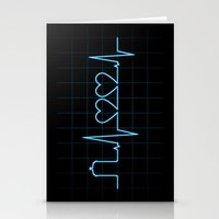 Two Heartbeats Stationery Cards