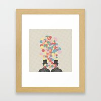 Pleased To Meet You Framed Art Print