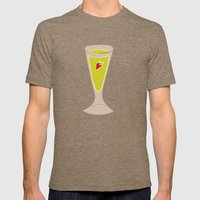 Alcohol_04 Mens Fitted Tee Tri-Coffee SMALL