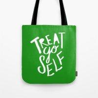 Treat Yo Self X Holiday … Tote Bag