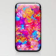 FLORAL FANTASY Bold Abst… iPhone & iPod Skin