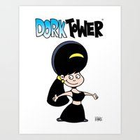 DORK TOWER - Gilly Art Print