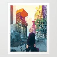 Gamification Art Print