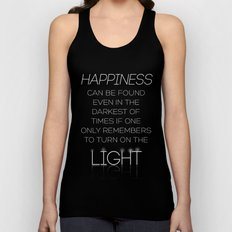 Harry Potter Albus Dumbledore Quote Unisex Tank Top
