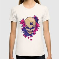 Such A Cuteness Womens Fitted Tee Natural SMALL