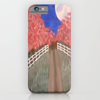 Cherry Blossom Pathway iPhone 6 Slim Case
