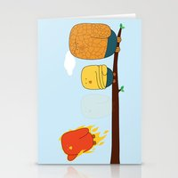 The Fantastic Four Stationery Cards