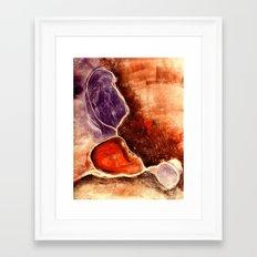 Organic Flow Framed Art Print