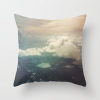The Sky Throw Pillow