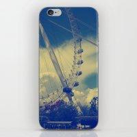 London Eye III iPhone & iPod Skin
