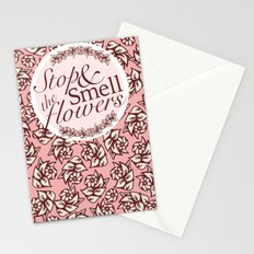 Belle Fleur- Stop & Smell the Flowers Stationery Cards