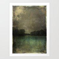 The Lake Susan Weller Art Print