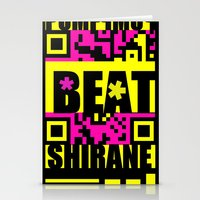 Beat Wins K U R - Shirane Stationery Cards