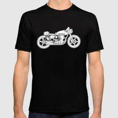Honda CB750 - Café racer series #1 SMALL Black Mens Fitted Tee
