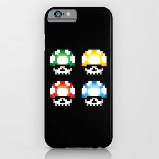 Skull Mushroom iPhone & iPod Case