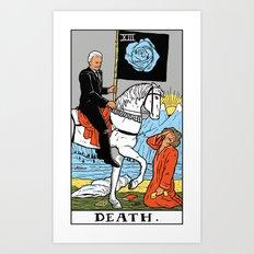 XIII-Death Art Print