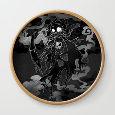 Deathly Bear Wall Clock