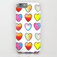 Paper Hearts iPhone 6 Slim Case
