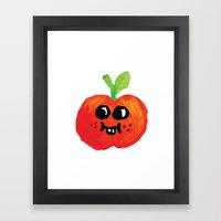 Apple Cutie Framed Art Print