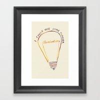 Lizzie Bennet #1 Framed Art Print
