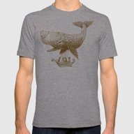 Tea At 2,000 Feet Mens Fitted Tee Tri-Grey 2X-LARGE