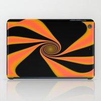 Abstract. Orange+Yellow. iPad Case