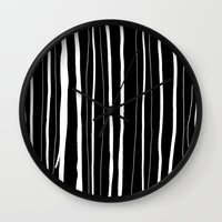 Vertical Living Wall Clock