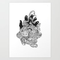 Obscure Intentions Art Print