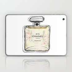 Chanel No5 Illustrated  Laptop & iPad Skin