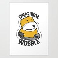 Original Wobble Art Print