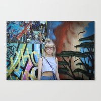 Youth In Revolt Canvas Print