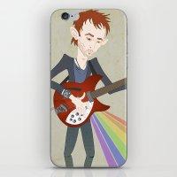 Radiohead Thom In Rainbo… iPhone & iPod Skin