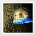 Snow Globe-al Warming Art Print