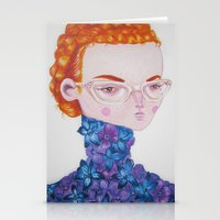 Recato/Demureness Stationery Cards
