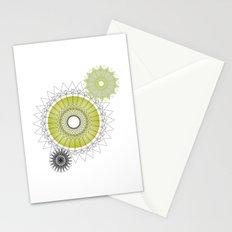 Modern Spiro Art #5 Stationery Cards