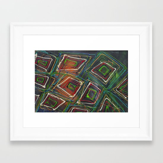 Kaleidescope Framed Art Print