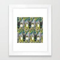 A Midsummer Night's Dream   fairy fantasy   emerald Framed Art Print