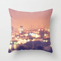 Everyone's A Star. Los A… Throw Pillow