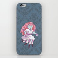 Octo Girl  iPhone & iPod Skin