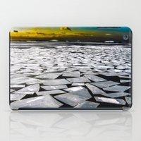 Broken ice floes iPad Case