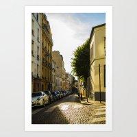 Montmartre Series 2 Art Print