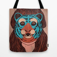 Tiger Face Tote Bag