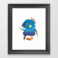 Peg Leg Parry Framed Art Print