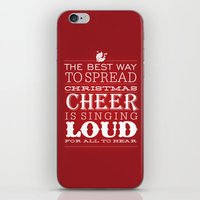 Christmas Cheer iPhone & iPod Skin