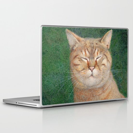 Sleepy Laptop & iPad Skin