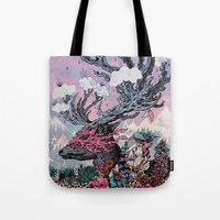 Journeying Spirit (deer)… Tote Bag