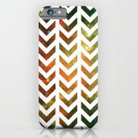 Nebula Chevrons iPhone 6 Slim Case