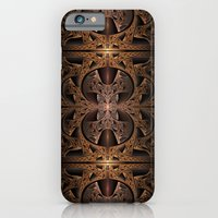 Steampunk Engine Abstract Fractal Art iPhone 6 Slim Case