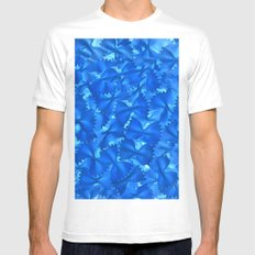 Blue Pasta SMALL Mens Fitted Tee White