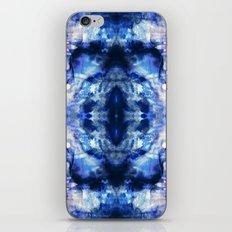 Blue Lagoon Tie-Dye iPhone & iPod Skin